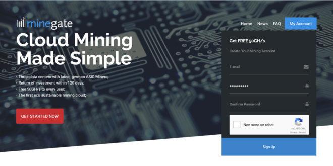 minegate cloud mining
