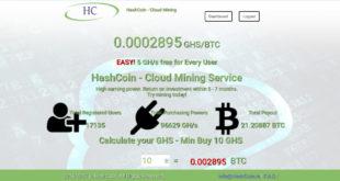 hashcoin cloud mining