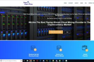 super simple mining cloud