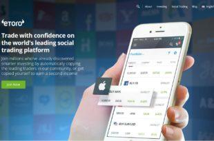 eToro trading exchange