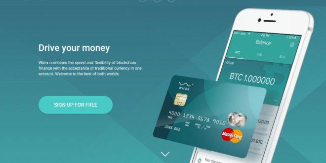 wirex wallet debit card