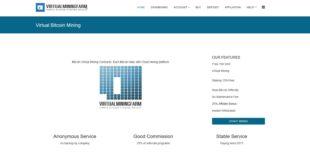 virtualminingfarm virtual cloud mining bitcoin