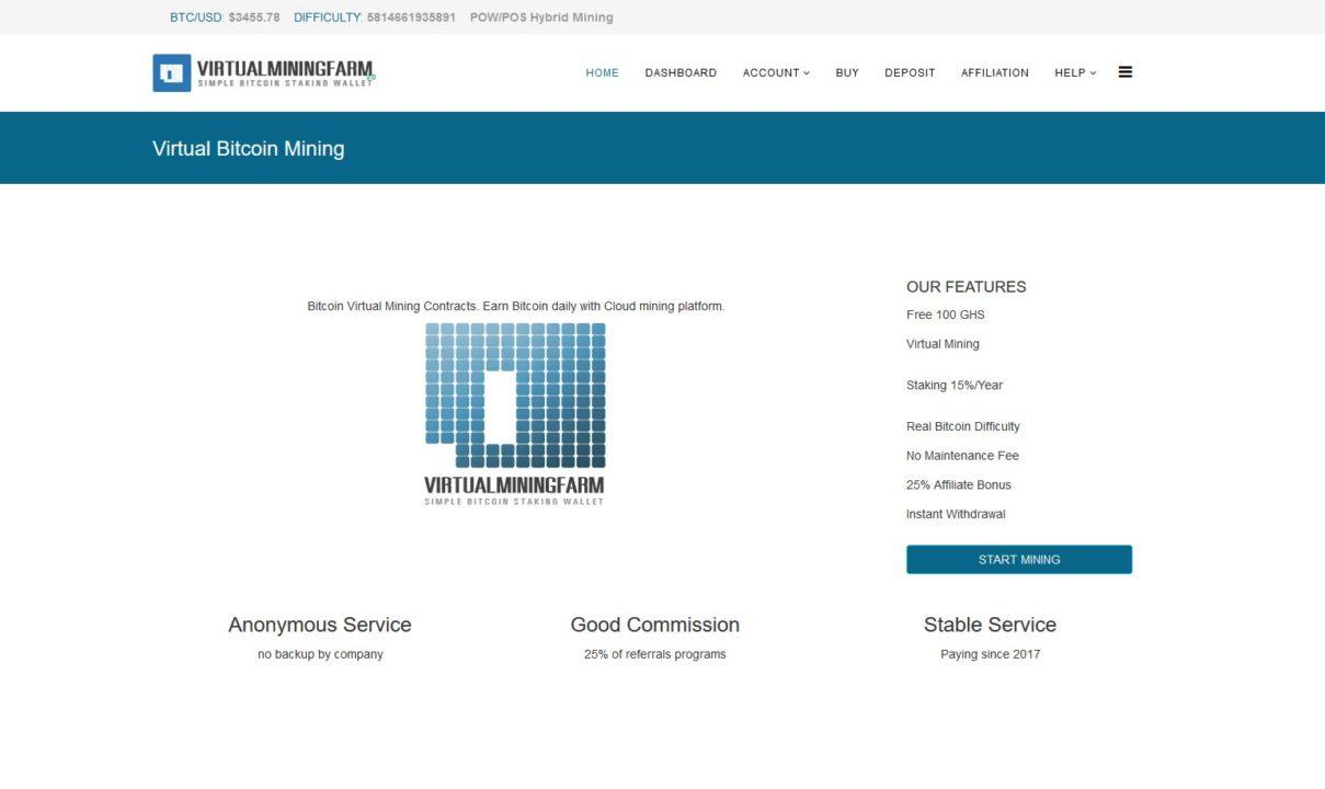 Virtualminingfarm cloud mining review » Invest Monitor XYZ