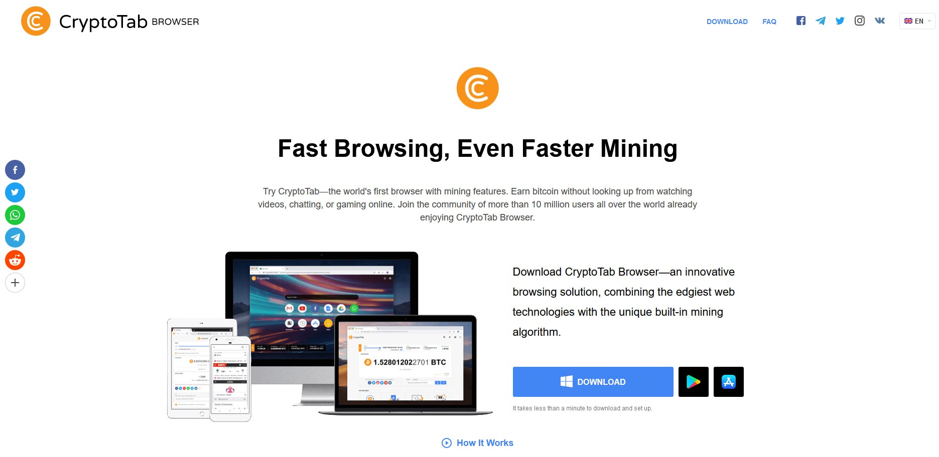 cryptotab browser mining solo