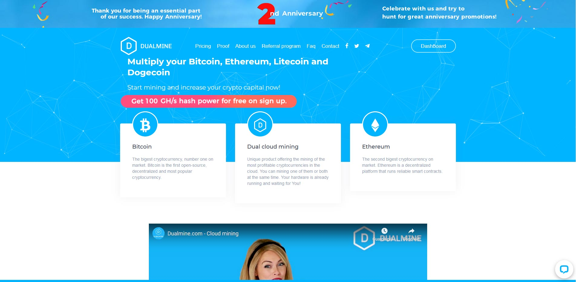 Dualmine cloud mining review