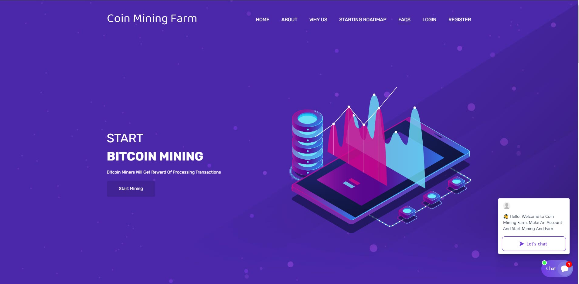 coin mining farm cloud mining
