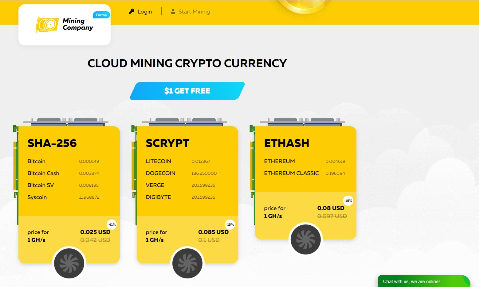 mining company ltd cloud mining
