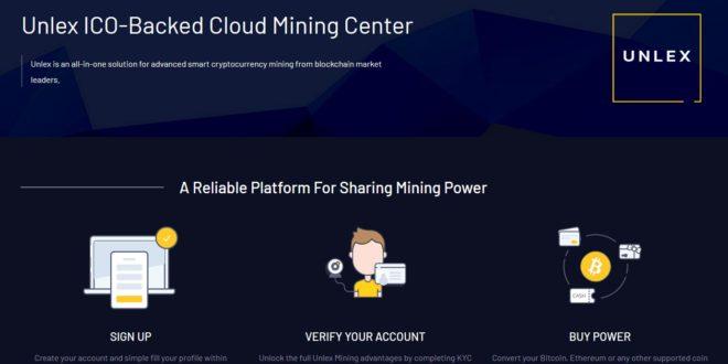 unlex mining cloud mining review