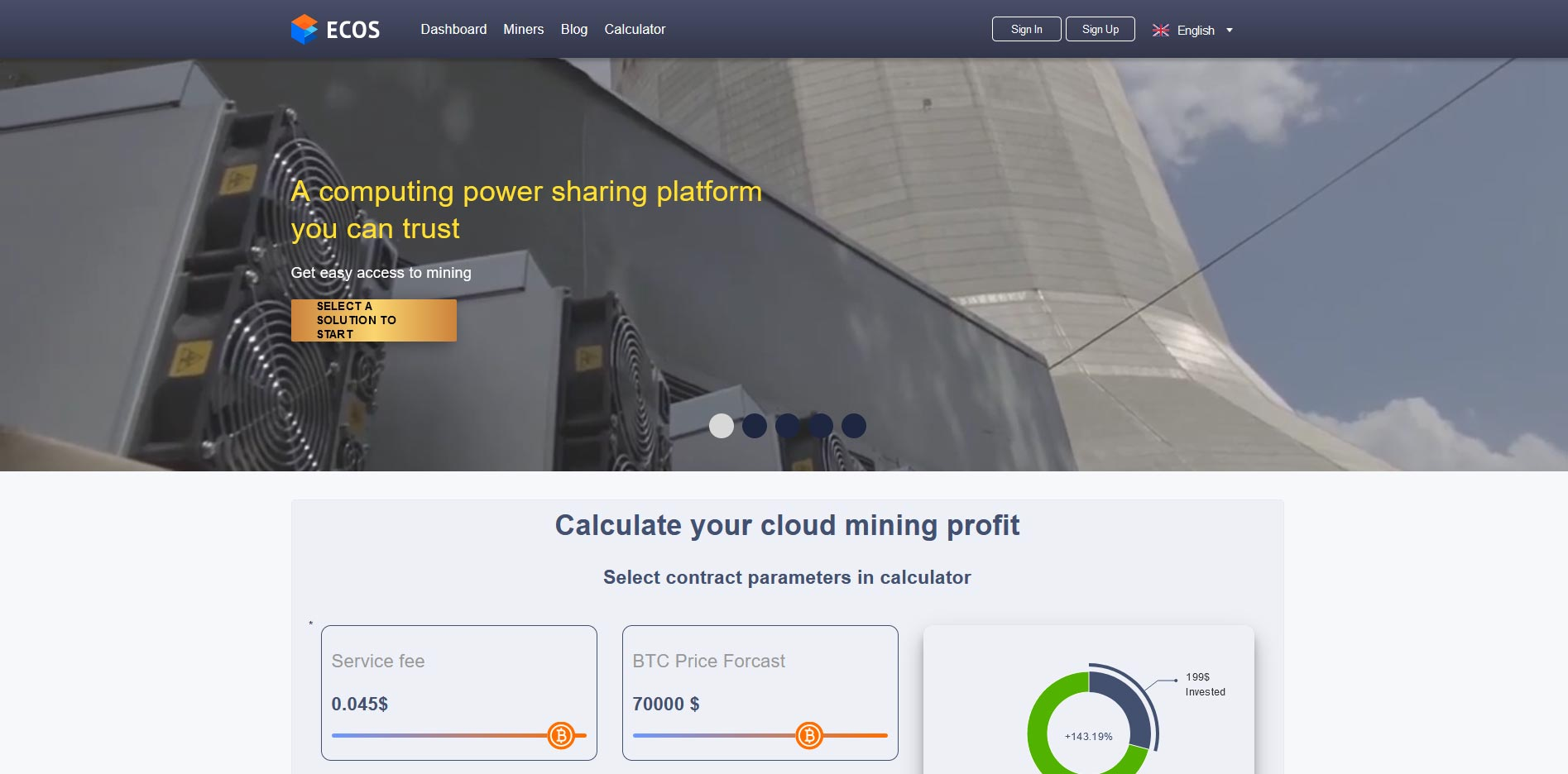 ecos cloud mining review