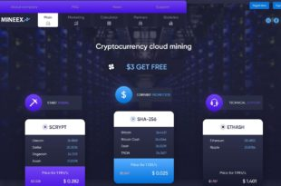 mineex cloud mining review
